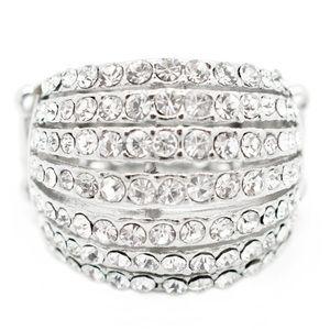 Layered Diamond Ring